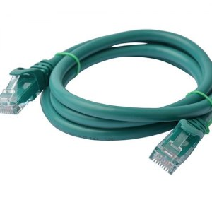 8ware-PL6A-1GRN-8Ware Cat6a UTP Ethernet Cable 1m Snagless Green