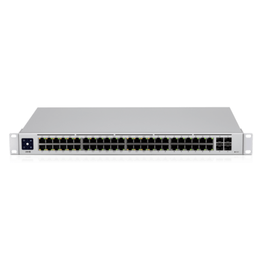 Ubiquiti-USW-48-POE-AU-Ubiquiti UniFi 48 port Managed Gigabit Layer2  Layer3 switch - 48x Gigabit Ethernet Ports w/ 32x 802.3at POE+