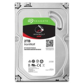 "Seagate-ST2000VN004-Seagate 2TB 3.5"" IronWolf NAS 5900RPM SATA3 6Gb/s 64MB HDD. 3 Years Warranty"